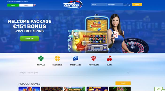 Turbo casino foto 1